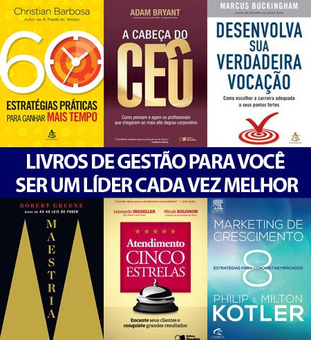 6 livros de gestão para você ser um líder cada vez melhor