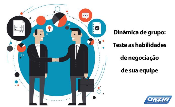 Dinâmica de grupo: Teste o poder de negociação da sua equipe