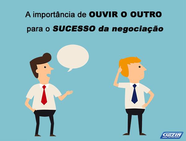 A importância de ouvir o outro para o sucesso da negociação