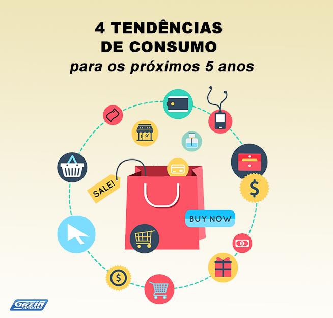 4 tendências de consumo para os próximos 5 anos