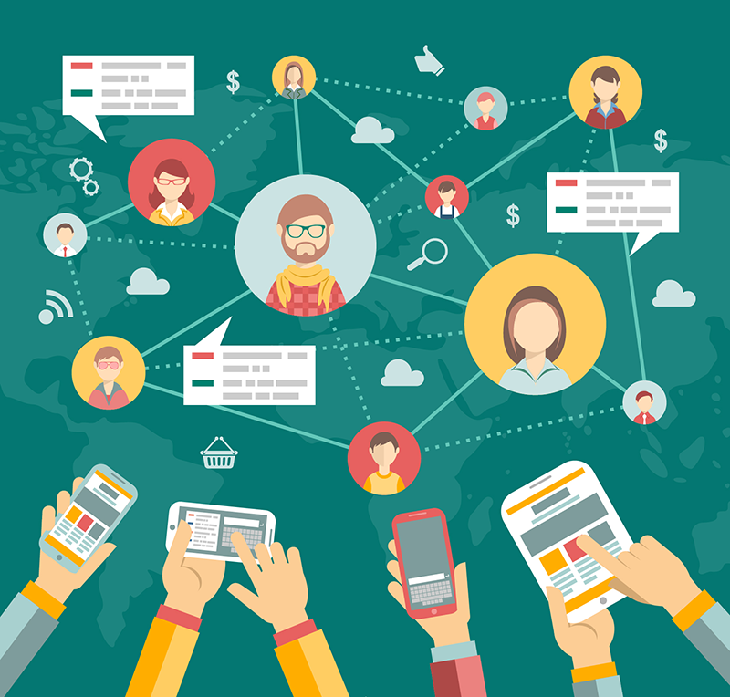 Como usar as redes sociais para fortalecer o relacionamento com seus hóspedes