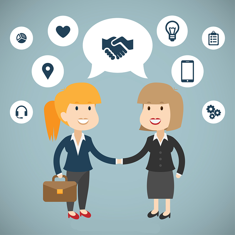 O valor do relacionamento nas negociações com funcionários e fornecedores