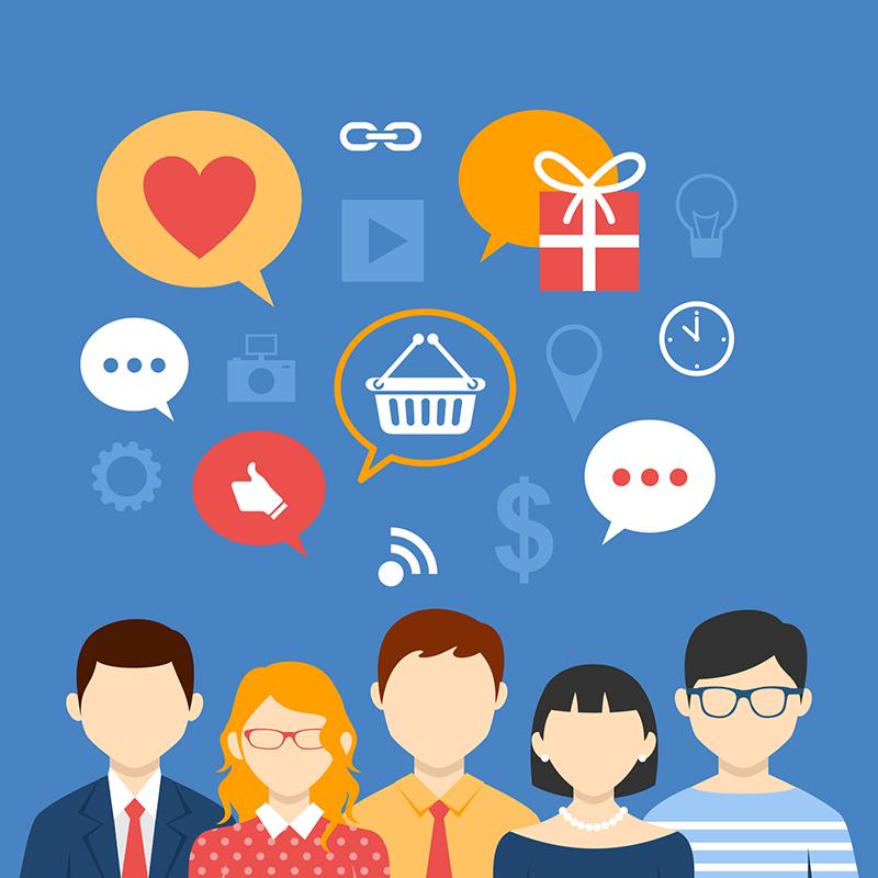 Mídias sociais impulsionam as vendas on-line