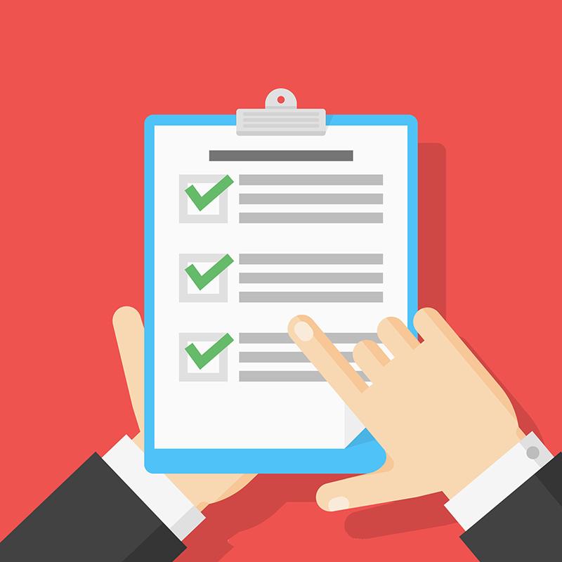 Checklist para garantir a satisfação dos hóspedes
