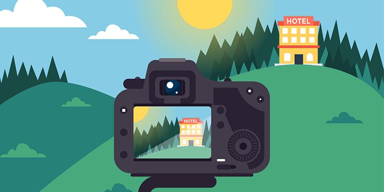 O que evitar ao fotografar seu hotel ou pousada