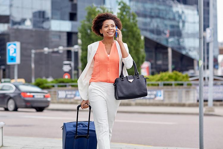 Serviços extras para viajantes a trabalho