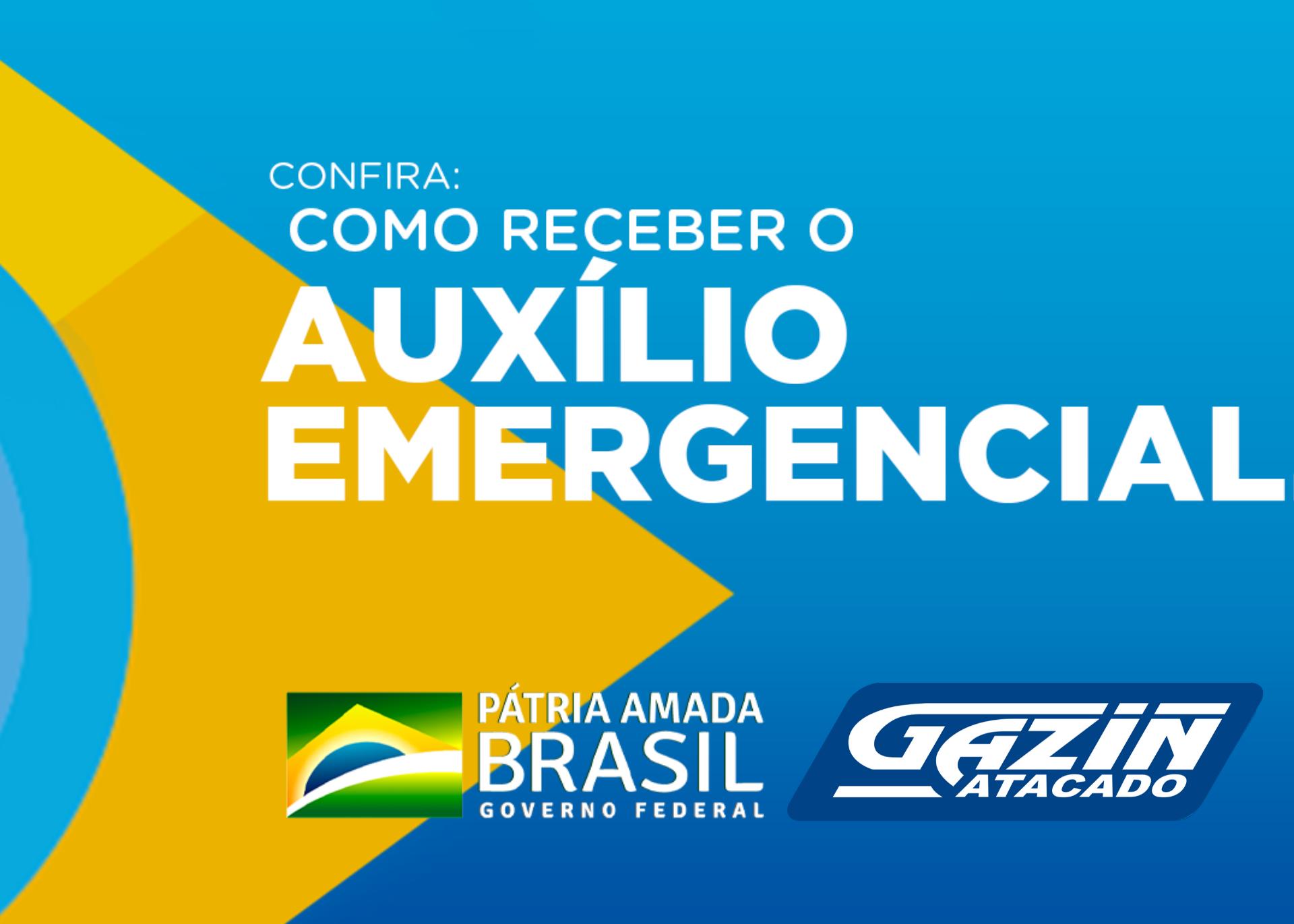 Saiba mais! Auxílio emergencial do Governo Federal